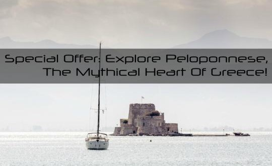Special Offer: Explore Peloponnese, the mythical heart of Greece!