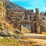 The Lion Gate At Mycenae, Argolis, Peloponnese, Greece | Photo Instagram @archeo.photo
