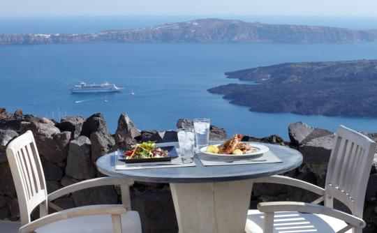 Honeymoon Petra Villas | Food & Drinks, Imerovigli, Santorini, Cyclades, Greece | Highly NOT Recommended