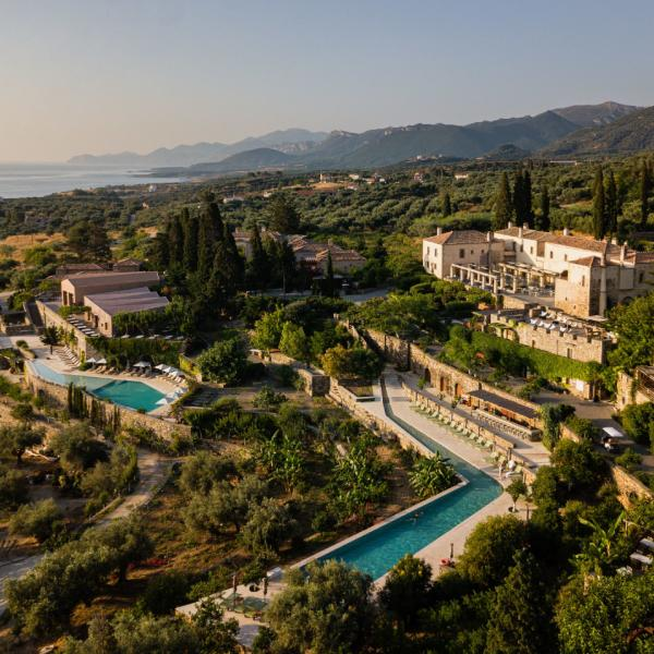 Kinsterna Hotel, Agios Stefanos, Monemvasia, Laconia, Peloponnese, Greece