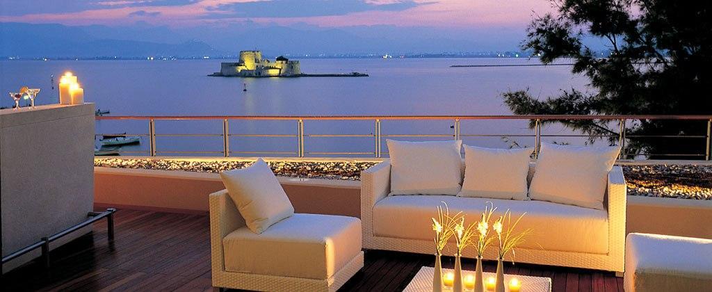 Amphitryon Hotel, Nafplio, Argolis, Peloponnese, Greece