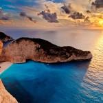 Navagio beach, Zakynthos ( Zante ), Ionian Islands, Greece