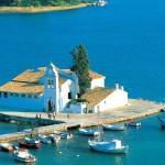 Pontikonisi, Corfu, Ionian Islands, Greece