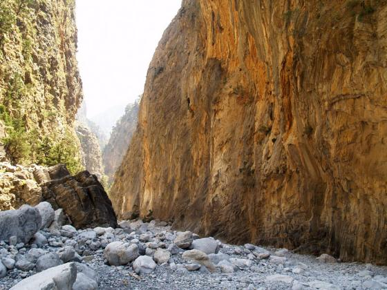 Samaria Gorge, Chania, Crete, Greece