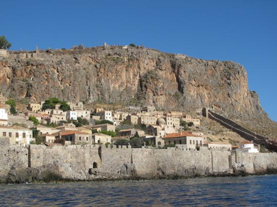Castle of Monemvasia, Laconia, Peloponnese, Greece