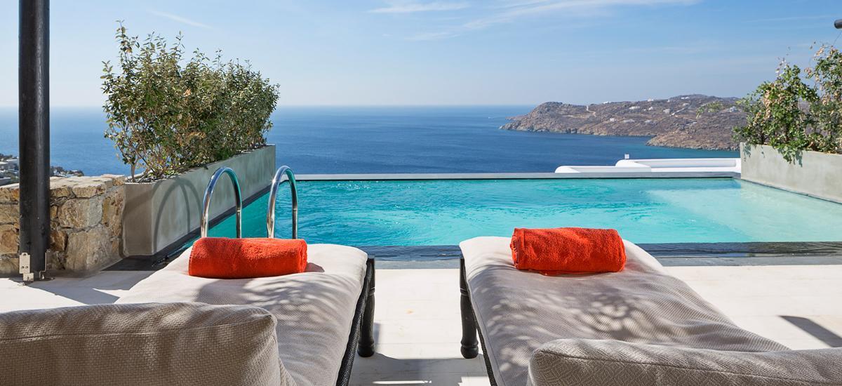 Myconian Utopia Resort, Elia Beach, Mykonos, Cyclades, Greece