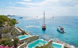 Mykonos Blu Grecotel Exclusive Resort, Mykonos, Cyclades, Greece