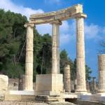 Ancient Olympia, Ilia, Peloponnese, Greece