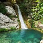 Neda Waterfalls, Messinia, Peloponnese, Greece