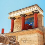 The Palace of Knossos, Crete, Greece