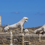 Delos Island, Cyclades, Greece