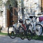 Mountain-bikes, Abelos Villas, Agios Ioannis, North Kynouria, Arcadia, Peloponnese, Greece