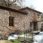 The Open Air Water-Power Museum, in Dimitsana, Arcadia, Peloponnese, Greece