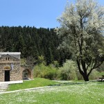 Zoodochos Pigi Chapel near Elati in Arcadia, Peloponnese, Greece